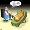 Cartoon: Nuts (small) by toons tagged peanuts,nuts,mental,illness