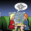 Cartoon: Pairing with wine (small) by toons tagged wine,pairing,vino,alcohol,romance