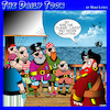 Cartoon: Pirates (small) by toons tagged eye,patch,pirates,salute,injury,saluting