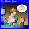 Cartoon: Play outside (small) by toons tagged social,media,go,play,outside,ipad