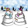 Cartoon: Pleased to meet you (small) by toons tagged snowman,erection,erectile,dysfunction,penis