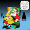 Cartoon: Popularity (small) by toons tagged santa,facebook,awesome,popularity,christmas