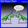 Cartoon: Praying Mantis (small) by toons tagged praying,mantis,beheaded,insects