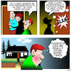 Cartoon: Prodigal son (small) by toons tagged parents,old,neighborhood,my,home,town,families,cruel,growing,up
