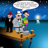 Cartoon: Quality control (small) by toons tagged mafia,execution,cement,sandshoes,drowning,quality,control,recorded