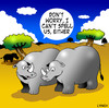 Cartoon: Rhino spell check (small) by toons tagged rhino,animals,africa,wild,spelling,spell,check,horns