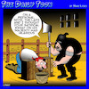 Cartoon: Satire (small) by toons tagged jester,beheading,medieval,guillotine,executioner,essay,blogs