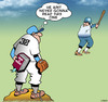 Cartoon: Secret curve ball (small) by toons tagged baseball,war,and,peace,pitcher,curve,ball