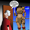 Cartoon: Shopping on Amazon (small) by toons tagged amazon,shopping,warrior,online,ebay