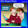 Cartoon: Smart phones (small) by toons tagged coronavirus,covid,19,phone,sales,smart,phones