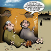Cartoon: Stoned to death (small) by toons tagged stoning,stoned,to,death,marijuana,drugs,middle,eastern,customs,punishment