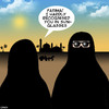 Cartoon: Sunglasses (small) by toons tagged burqa,burka,sunglasses,middle,east,recognizable,familiar