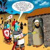 Cartoon: The Crusades (small) by toons tagged crusades,christian,vs,muslums,middle,east,conflict,bible,bashers,history