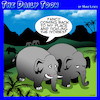 Cartoon: Tickle the ivories (small) by toons tagged elephant,tusks,piano,playing,elephants,pick,up,lines