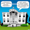 Cartoon: Trump wall (small) by toons tagged trumps,wall,white,house,canada,mexican