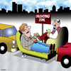 Cartoon: Unloading zone (small) by toons tagged psychology,psychiatrist,mental,loading,zone