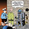 Cartoon: update my Facebook page (small) by toons tagged facebook,electric,chair,update,my,profile,capital,punishment