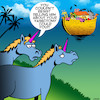 Cartoon: Vasectomy (small) by toons tagged unicorns,vasectomy,noahs,ark,animals