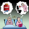 Cartoon: Viagra idea (small) by toons tagged viagra,sex,old,age,seniors,erection,penis,love,making