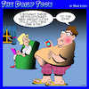 Cartoon: Weight loss pills (small) by toons tagged gym,weight,loss,pills,exercise,obesity,fat,overweight