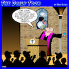 Cartoon: What would Jesus do (small) by toons tagged tweeting,christ,preacher,tweets