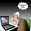 Cartoon: You too (small) by toons tagged computer,memory,laptops,computers,ageing,old,age,pensioner