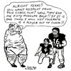 Cartoon: KEEP IN SHAPE (small) by Toonstalk tagged football,fat,coaches,nfl