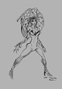 Cartoon: POISON IVY (small) by Toonstalk tagged poison,ivy,villian,badgirl,batman,dc,comics