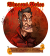 Cartoon: Vincent Price (small) by Garvals tagged vincent price horror demon