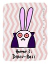 Cartoon: Hasi 29 (small) by schwoe tagged hasi,hase,dracula,twilight,horror,vampir