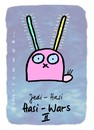 Cartoon: Hasi 67 (small) by schwoe tagged hase,hasi,jedi,jediritter,laser,laserschwert,starwars