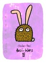 Cartoon: Hasi 69 (small) by schwoe tagged hasi,hase,chubaka,haarig,alf,starwars