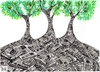 Cartoon: THE FOREST OF RECYCLE (small) by majezik tagged forest,recycle