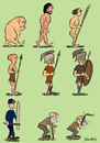 Cartoon: theory of evolution (small) by bilgehananil tagged evrim,theory,teori,evolution