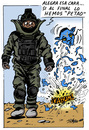Cartoon: Oscar 2010 (small) by jrmora tagged odcar,cine,avatar,hurt,locker