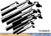 Cartoon: Tsunami en Hawaii (small) by jrmora tagged tsunami,hawaii