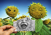 Cartoon: Pencil Vs Camera - 62 (small) by BenHeine tagged pencil,vs,camera,pencilvscamera,art,ben,heine,benheine,drawing,photography,imagination,reality,surrealism,augmented,sketch,sunflower,family,flowers,baby,cry,shout,nature,santiago,spain