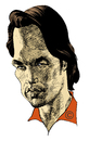 Cartoon: Olivier Martinez (small) by Eoin tagged caricature,celebrities,olivier,martinez