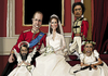 Cartoon: Royal Familys (small) by Anitschka tagged katy,william,barack,obama,osama,bin,laden,ghadaffi,mad,world,royal,kings,rule