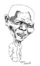 Cartoon: Nelson Mandela (small) by Fredy tagged nelson,mandela,politic,south,africa