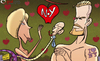 Cartoon: Beckham denied New York investme (small) by omomani tagged david,beckham,victoria,adam,eve,serpant,don,garber