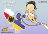 Cartoon: Deutschland in Euro 2012 (small) by omomani tagged ozil germany real madrid ukraine poland euro 12