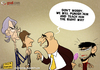 Cartoon: Galliani Punishment (small) by omomani tagged galliani,gatusso,leonardo,moratti,ac,milan,inter,italy,brazil,seria