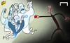 Cartoon: Ghost buster Wenger (small) by omomani tagged wenger,reina,higuain,rafael,benitez,napoli,arsenal,champions,league