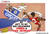 Cartoon: Glen Johnson sinks Chelsea (small) by omomani tagged chelsea,england,johnson,liverpool,meireles,portugal,premier,league,spain,torres