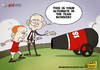 Cartoon: Scholes Alternative (small) by omomani tagged scholes,manchester,united,ferguson,england,scotland,soccer,football