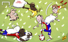 Cartoon: Soft Liverpool fall to Basel (small) by omomani tagged liverpool,basel