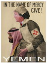 Cartoon: Give (small) by willemrasingart tagged yemen,trump