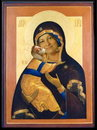 Cartoon: Icon Maria Ilona! (small) by willemrasingart tagged god