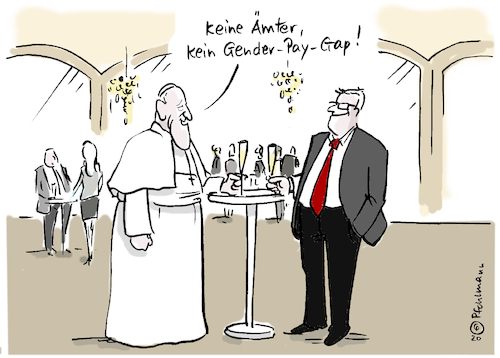 Papst Gender-Gap